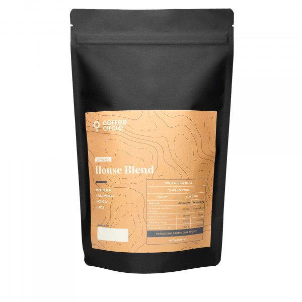 Coffee Circle Espresso House Blend | 350g ganze...